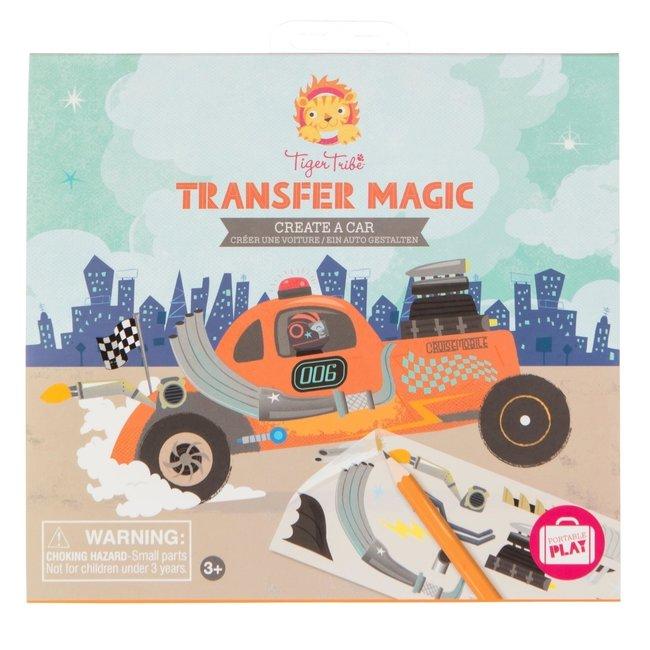 Transfer Magic – Design een auto | Tiger Tribe