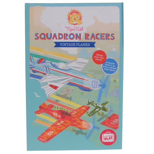 Tiger Tribe Knutselset Vliegtuigen - Squadron Racers