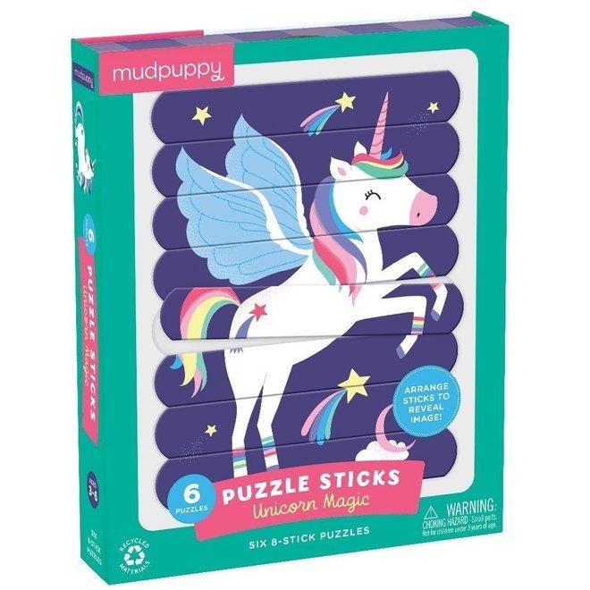 Puzzel Sticks - Unicorn Magic | Mudpuppy