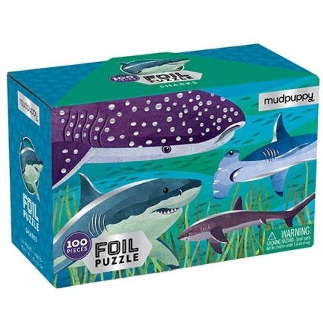 Haaien Folie Puzzel - 100st | Mudpuppy