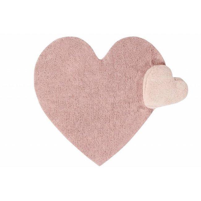 Tapijt Puffy Love met kussen 160x180cm   Lorena Canals