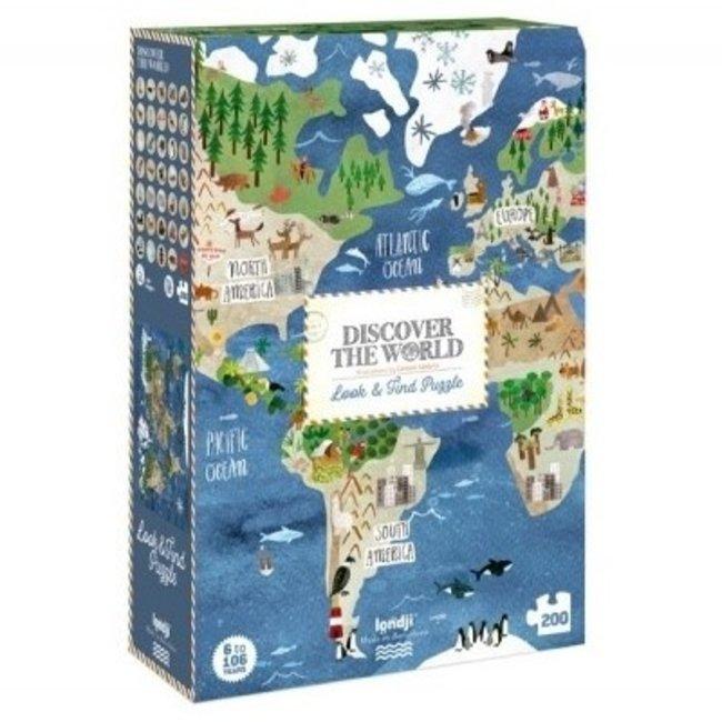 Discover the World Puzzel (200st) | Londji