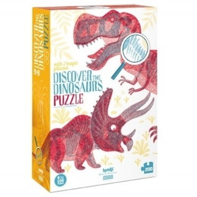 Londji Discover the Dinosaurs Puzzel (200st) | Londji