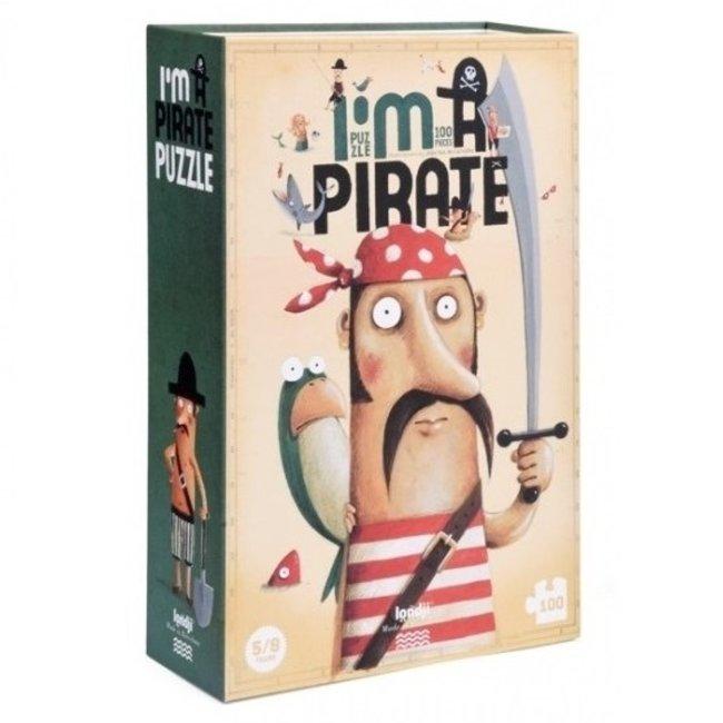Londji I'm a Pirate Puzzel (100st) | Londji