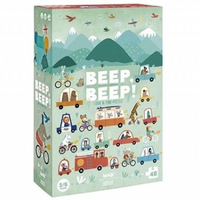 Beep Beep! puzzel (48st)   Londji