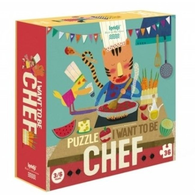 I want to be... chef Puzzel (36st)   Londji