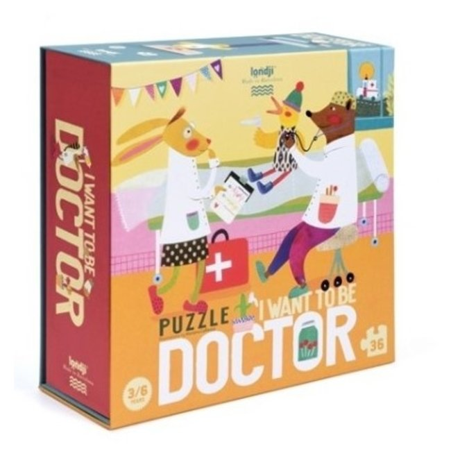 I want to be... Doctor Puzzel (36st)   Londji