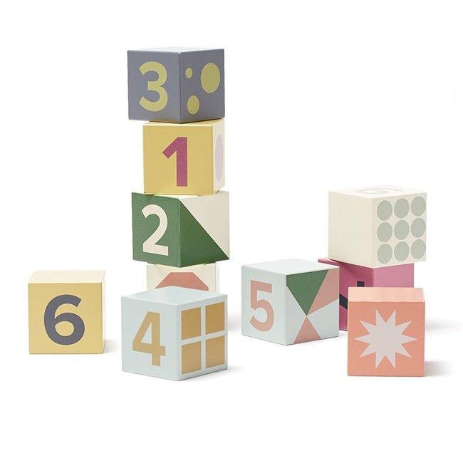 10 Houten blokken Edvin | Kid's Concept