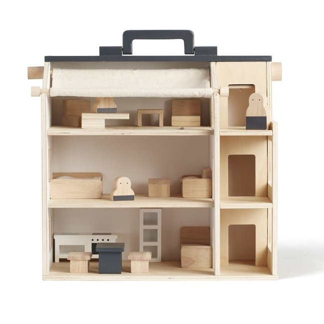 Kid's Concept Poppenhuis - Studio House (incl. meubeltjes!) | Kid's Concept