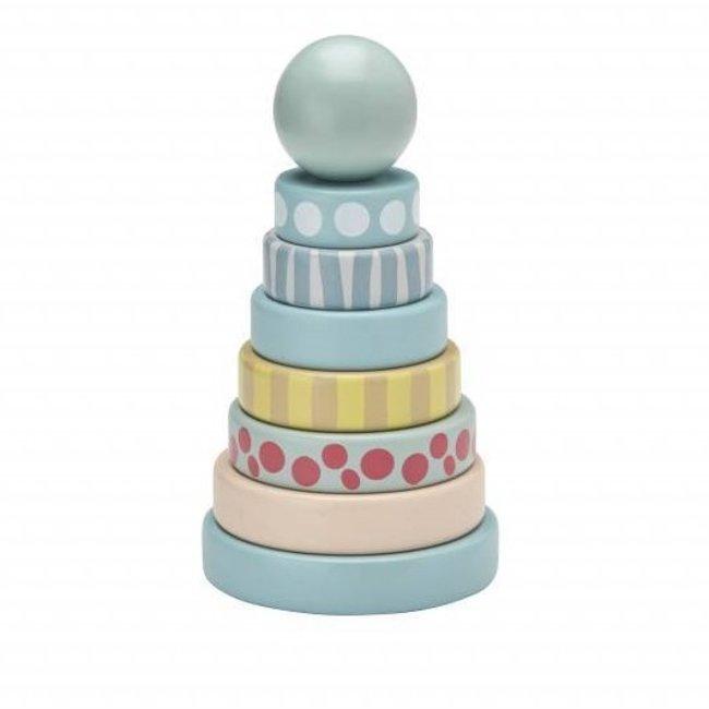 Kid's Concept Stapelbare Ringen Edvin - Groen | Kid's Concept