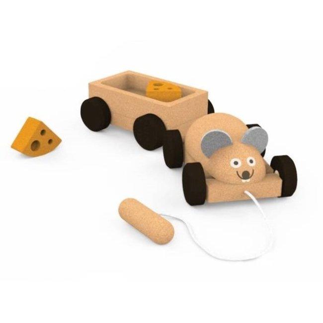 Kurken Trekspeeltje – Mouse Trailer