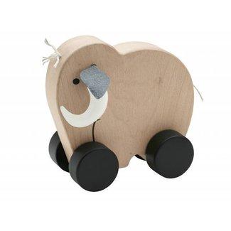 Kid's Concept Houten Speeltje Mammoet NEO Push   Kid's concept