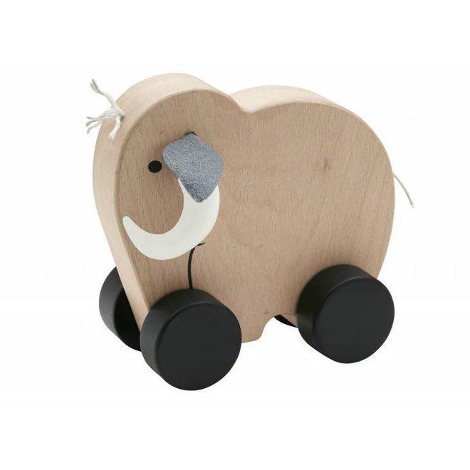 Houten Speeltje Mammoet NEO Push | Kid's concept