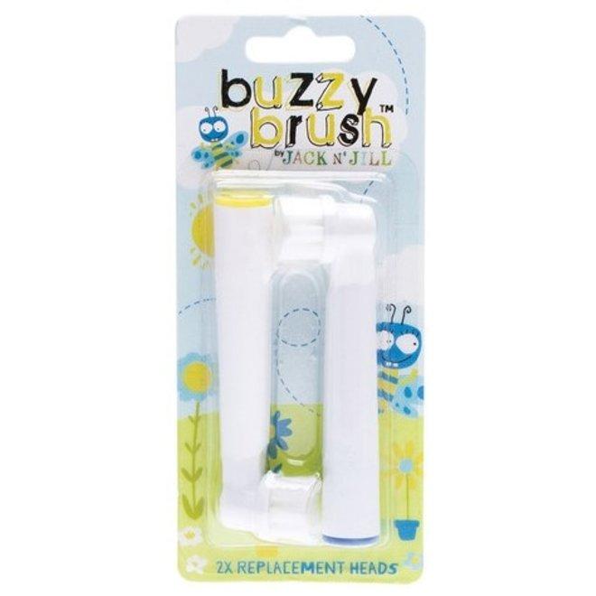 Buzzy Brush Vervangborstels (2 stuks) | Jack N' Jill