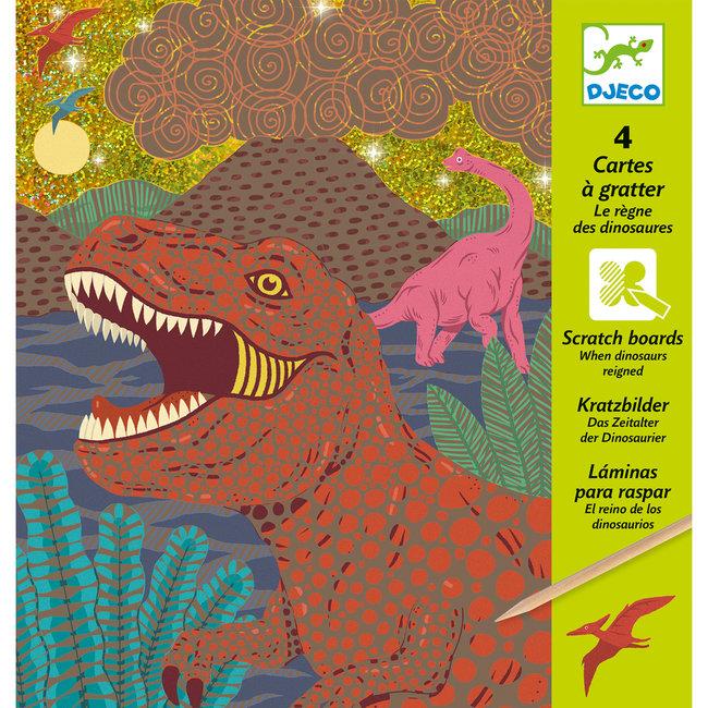 Kraskaarten - Dinosaurussen | Djeco