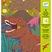 Djeco Kraskaarten - Dinosaurussen | Djeco