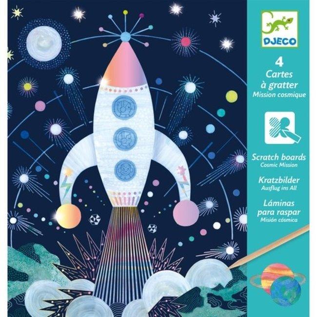 Kraskaarten - In de ruimte | Djeco