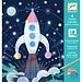 Djeco Kraskaarten - In de ruimte | Djeco