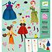 Djeco Stickerset - Aankleden Modellen | Djeco