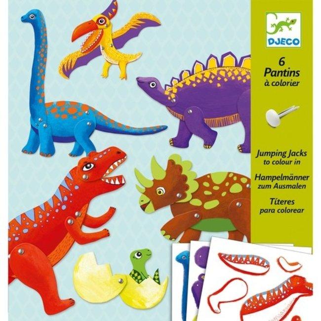 Djeco Splitpennen knutselset Dino's | Djeco