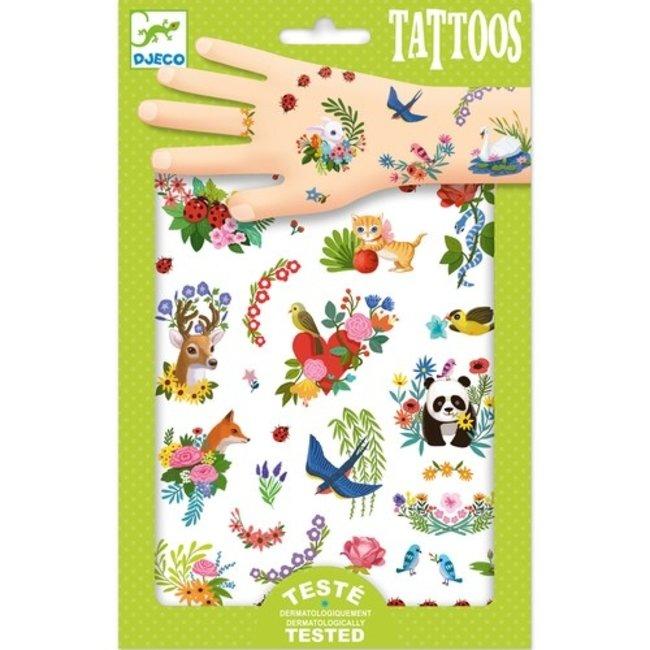 Tattoos - Vrolijke lente   Djeco