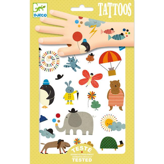 Djeco Tattoos - Lieve diertjes | Djeco