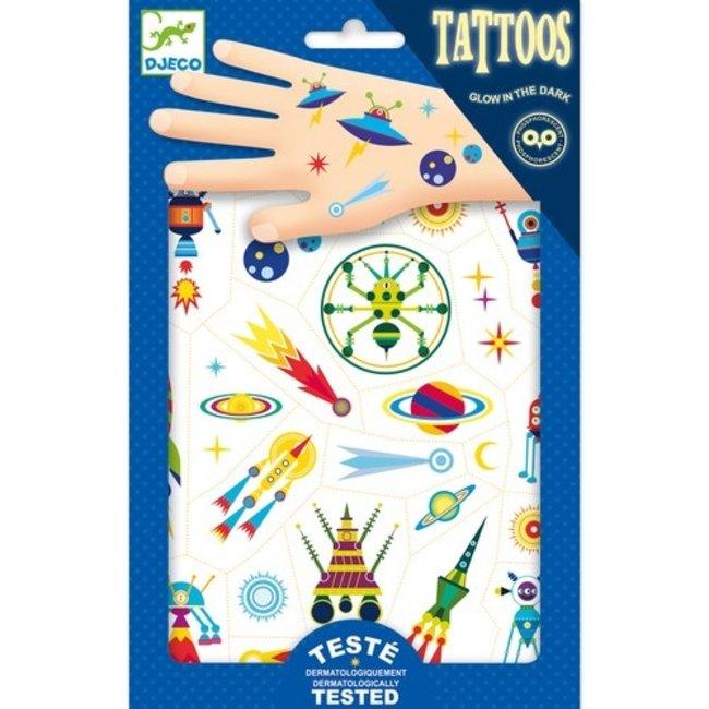 Djeco Tattoos - In de Ruimte | Djeco