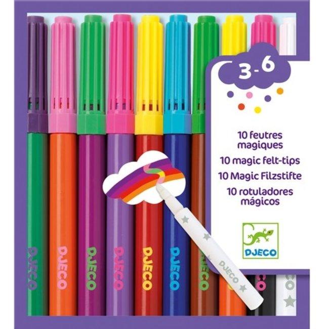 Djeco Magische Stiften (10st) | Djeco