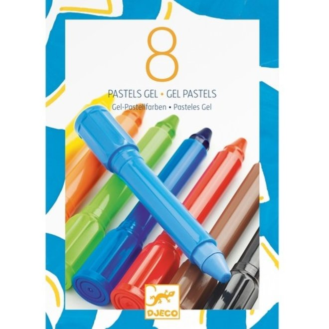 Gelstiften Pastel Klassiek (8st) | Djeco