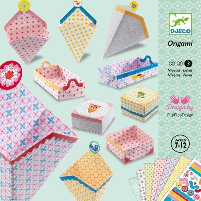 Djeco Origami Kleine Doosjes | Djeco