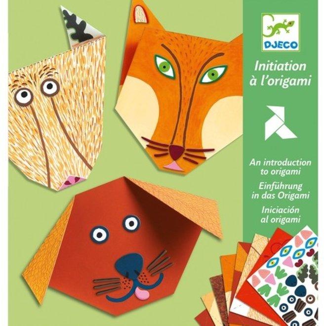 Eenvoudige Origami - Dieren   Djeco