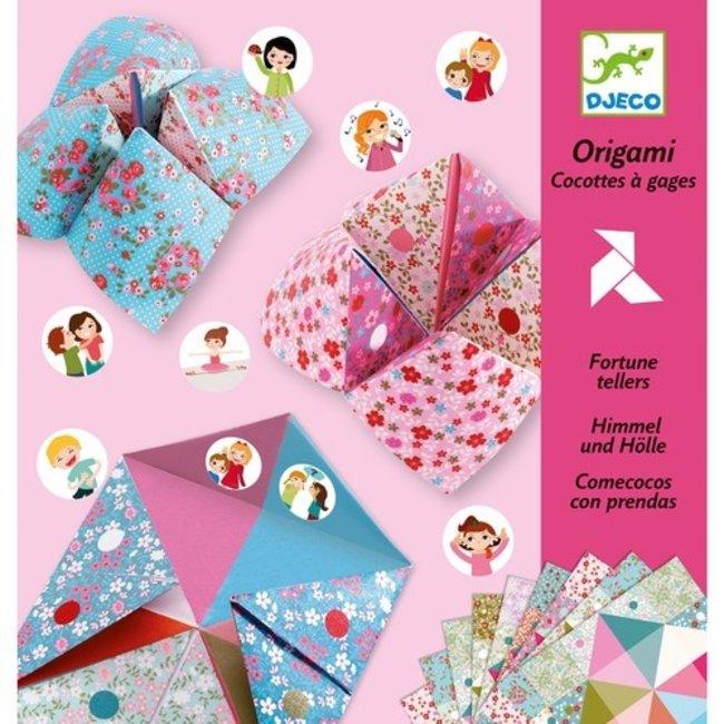 Djeco Origami - Fortune Tellers - Bloemen | Djeco