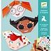 Djeco Eenvoudige Origami - Grappige Gezichten | Djeco