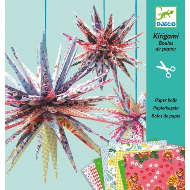 Kirigami - Papieren ballen | Djeco
