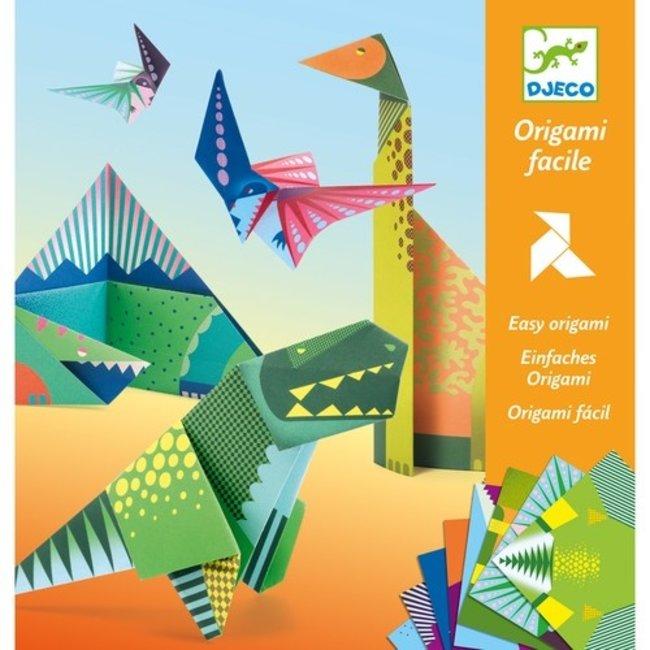 Djeco Eenvoudige Origami - Dinosaurussen | Djeco
