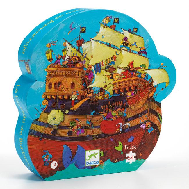 Barbarosa's Boot Vloerpuzzel (54st) | Djeco