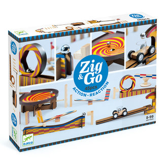 Djeco Zig & Go dominoset - 45st | Djeco