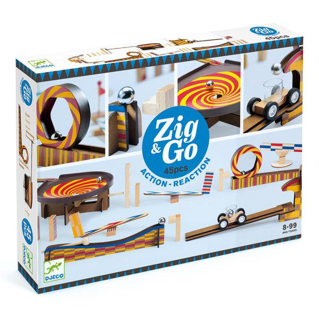 Zig & Go dominoset - 45st   Djeco