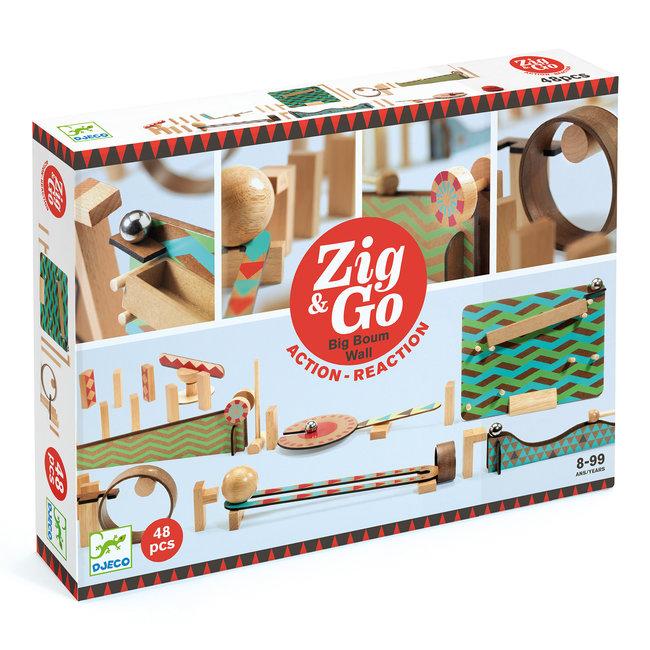 Djeco Zig & Go dominoset - 48st | Djeco
