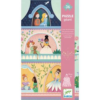 Djeco Reuzenpuzzel Prinsessentoren - 36 stukken