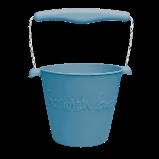 Scrunch Emmer - Grijsblauw