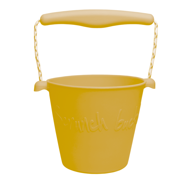 Scrunch Emmer - Mosterd