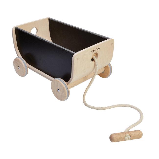 Plan Toys Houten Trekwagen
