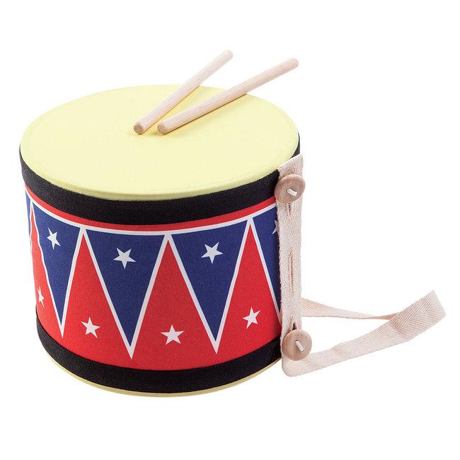 Plan Toys Plan Toys Houten Trommel - Big Drum II