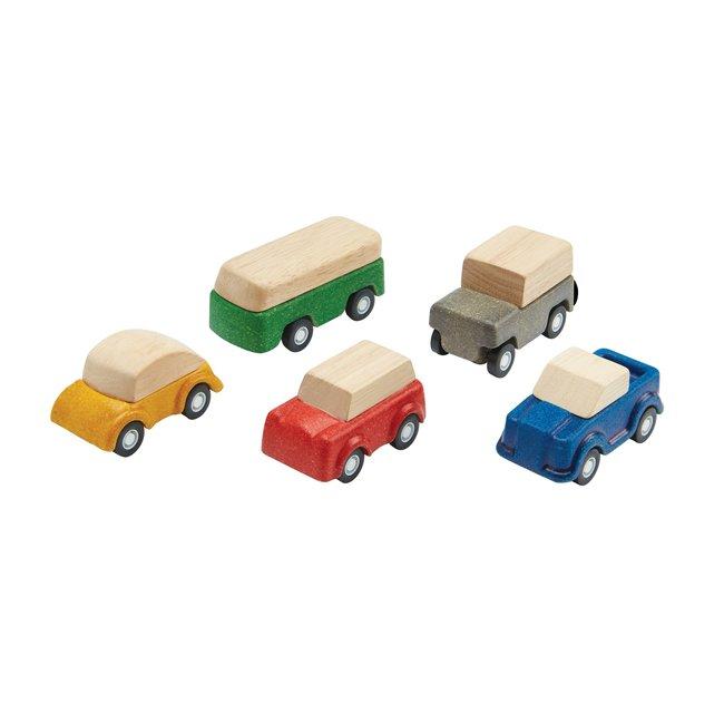 Plan Toys Houten Auto's