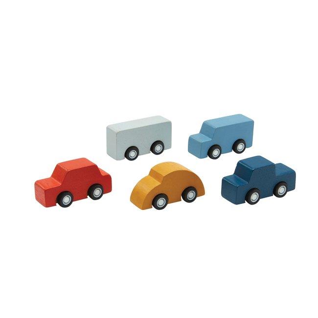 Plan Toys Houten Mini auto's
