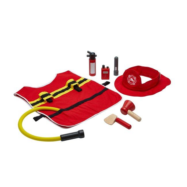 Plan Toys Brandweer Speelset