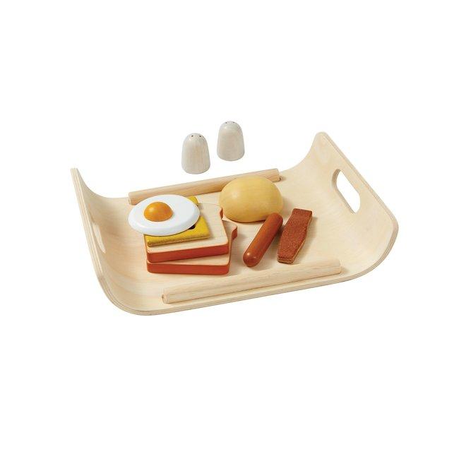 Plan Toys Ontbijt op Dienblad