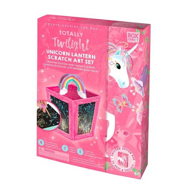 Box Candiy: Knutselset Lantaarn maken Unicorn