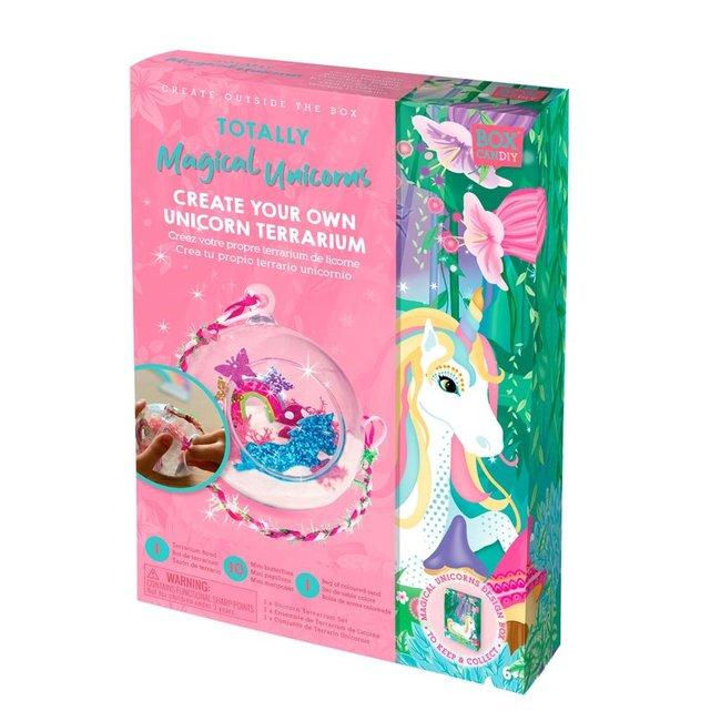 Box Candiy: Unicorn Terrarium  Knutselset